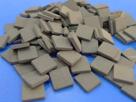 CERAMIC HEAT SINK 20x20x2mm